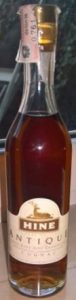 20cl Antique with a paper duty seal; letters are more red-brown
