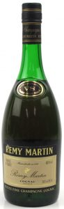 Petite Fine champagne VS on neck label; Produce of France stat