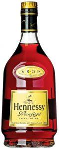 VSOP on shoulder label; main label first line: Privilege, second line: vsop cognac; 750ml