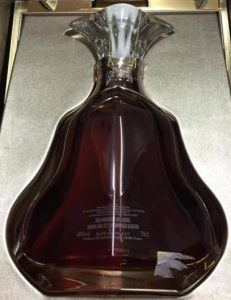 Backside of another 70cl Paradis Impérial
