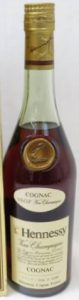 With different Asian characters underneath 'cognac'; 700ml stated on the back