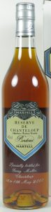 Reserve de Chanteloup Borderies, different emblem; 70cl. Engraved with the buyers name.