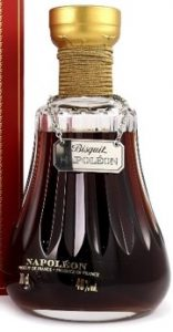 Napoleon 70cl stated and 40%vol; with produce of France in two languages