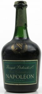 Bisquit Dubouché & Co.; waxed top (partly disappeared); 40° stated
