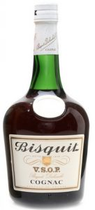 Bisquit Dubouché printed below VSOP; ABV and content not stated (said to be 70cl on auction)