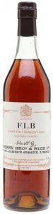 FLB (Francis Lawrence Berry); stated: produced and bottled by P. Frapin & Co. Segonzac.