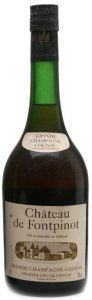 Chateau de Fontpinot, grande champagne; name Frapin not stated; black capsule, 70cl stated (1970s).