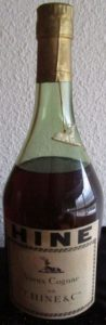 Without the word cognac at the bottom of the label; the bottle has lost its neck label with vsop on it