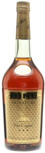 1L, with appellation cognac controlée stated below; content not stated