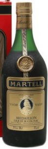 VSOP Liqueur cognac; 24 fl. oz and 68cl stated; bronze cap