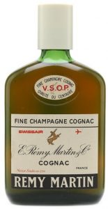 VSOP; Swissair; said on auction to be 35cl (1960s)