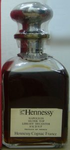 Napoléon Silver Top Library Decanter, HKDNP; content not stated
