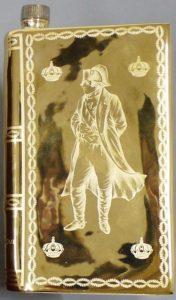 Napoleon, Castel limoges; Castel logo with nine text lines; back and front have laurels