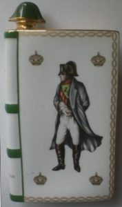 Napoleon, L limoges, on the back are solid bands