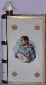 Napoleon bust, De Haviland limoges (white bicorn cap probably not original)