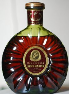 70cl (stated at bottom; Asian import by France Scott, Singapore (1980s)