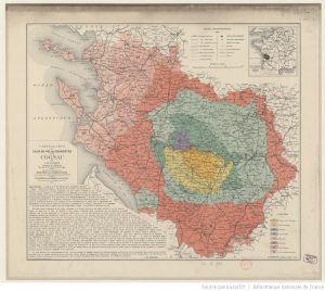 Guillon map, 1909