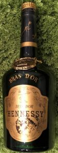 Bras d'Or, no contour; no signature, produce of France stated; 24 3/4 FL OZ