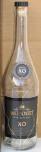 XO with 'cognac' above it stated on shoulder label; main label little different from previous bottle