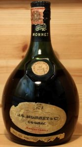 Invecchiamento 30 anni stated; 'Mise en bouteille a Cognac' stated on lower label; Italian import for Fresia & Figli