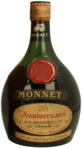'Mise en bouteille a Cognac' stated on lower label; content not stated