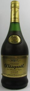 VSOP curved on the shoulder label; also an emblem on the main label above 'Bisquit'; 70cl, produce of France stated