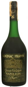 No blob or shoulder emblem, no 'premier cru du cognac' stated between Grande Champagne and Napoleon; 75cl