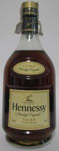 VSOP Privilege cognac on the shoulder label; 70cl