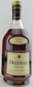 750ml stated and 'Produce of France' in stead of VSOP