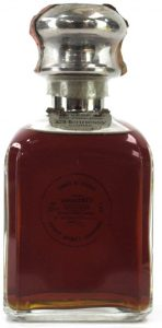 VSOP 70cl Fine Champagne Cognac (stated) Silver Top Library Decanter