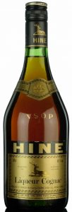 68cl Liqueur Cognac, yellow-green label