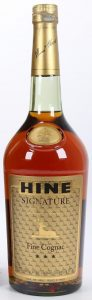 e 1 Litre stated; with appellation cognac controlée stated below;