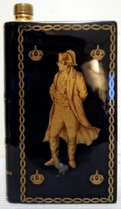 Napoleon, Castel limoges, laurels on the front and solid wedges on the back; dark blue