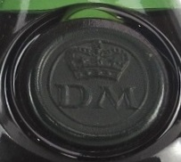 DM below a crown; used on Edouard VII bottles; DM: Denis-Mounié