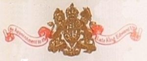 By appointment to the Late King Edouard VII on a banner and with their coat of arms