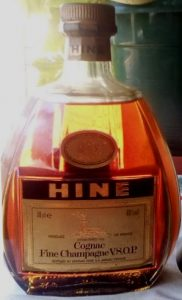 Fine champagne VSOP; '70cl e' stated; on the back: Cognac Frankreich