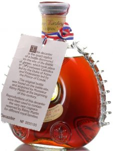 700ml stated; Baccarat, European; red octagonal box; 1969-1978