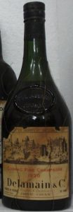 1920 Fine Champagne; with some text below 'Produce of France' in the lower left