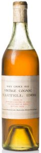 1906 Very Choice Old Vintage Cognac; landed 1907, bottled 1938