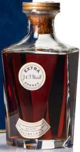 Martell Extra, no ribbon (cordon); Hong Kong import