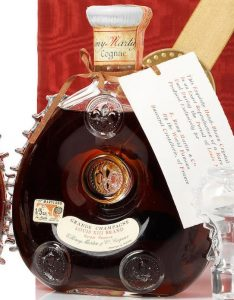 No additional info on front label, just 'Louis XIII Brand Rarest Réserve'; with a tax sticker of the state of Maryland (1964-1968)