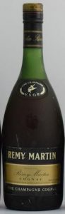 Sadly I can not read the content, but this very probably is a 750ml (was seen next to other 750ml bottles); long textline underneath: 'produced and bottled by E. Remy Martin & Co. Cognac France'