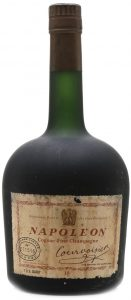 1 US Quart, no blob and no text or label on shoulder or neck; on the back: reservé a l'exportation