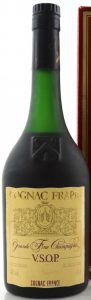 VSOP Grande Fine Champagne, with COGNAC FRANCE printed below; 70cl