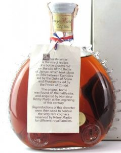'Tr`s Vieille' with gradi 40% and 75cl stated on the back of the neck; white box (said to be 1970s, but more probably 1960s)