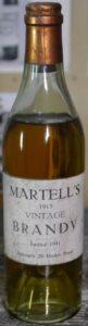 1913 Vintae, bottled 1941; 20 under proof (45.68% alc/vol); (ca 35cl )