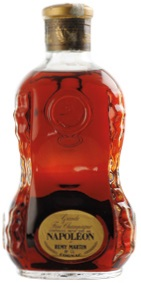 different text (content or abv) below 'Rémy Martin'