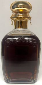Gold top 'Bibliotheque'; 70cl Russian import