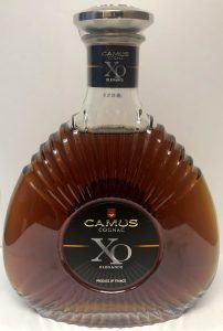 XO Elegance, with 'produce of France' stated (French)
