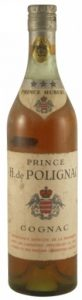 70cl (not stated), printed on the shoulder label is 'Prince Hubert; underneath on the label: 'Provenance directe de ....' (1940s)